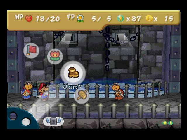 Paper Mario - here, emulation works perfect! - User Screenshot